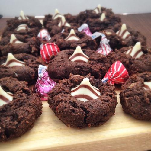 Black Bean Fudgy Cookies