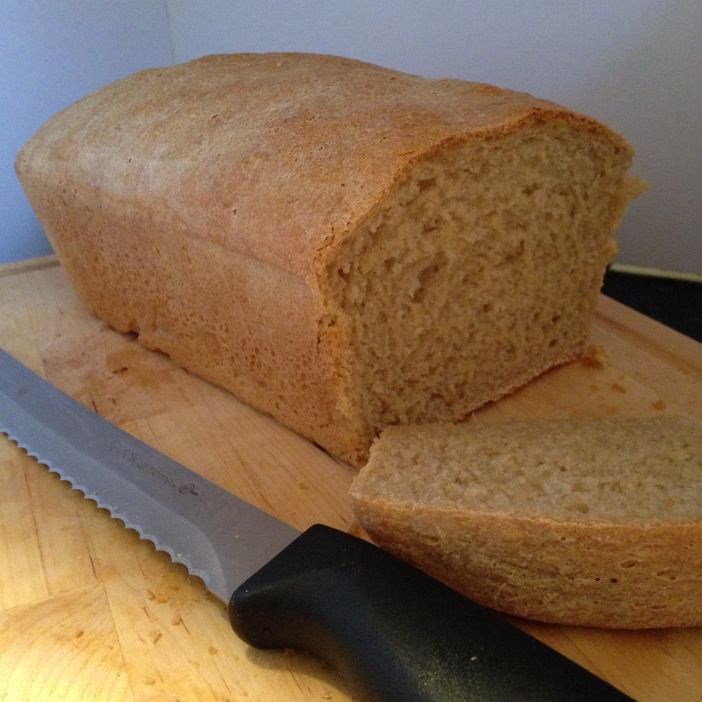 Meatless Monday- Homemade Whole Wheat Bread Recipe that is perfect for sandwiches, and SO much better than store bought!