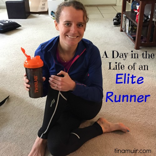 "Elite runner Tina Muir shares a ""day in the life of"" post about life as a working elite runner, and how she juggles her time."