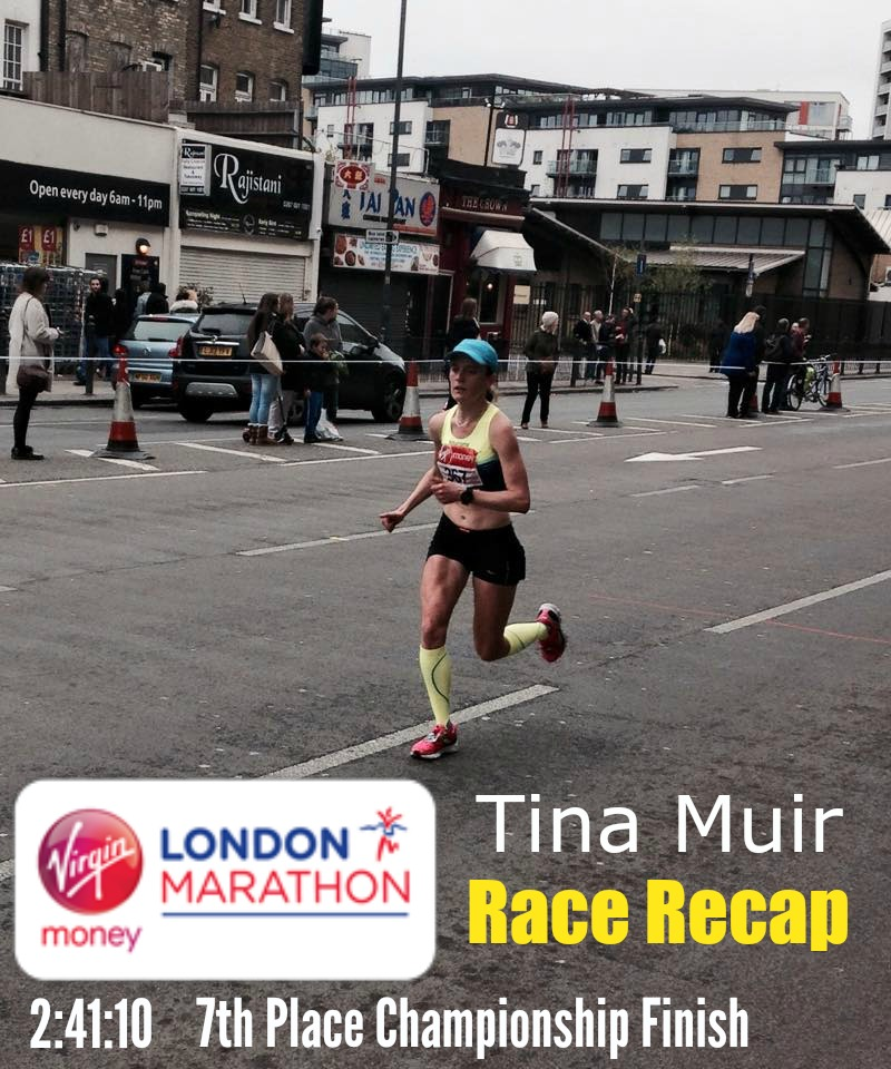 Elite runner Tina Muir recaps her 2015 London Marathon experience sharing the ups and downs that elites go through, and how overcoming setbacks can lead to more enjoyment than you ever imagined.