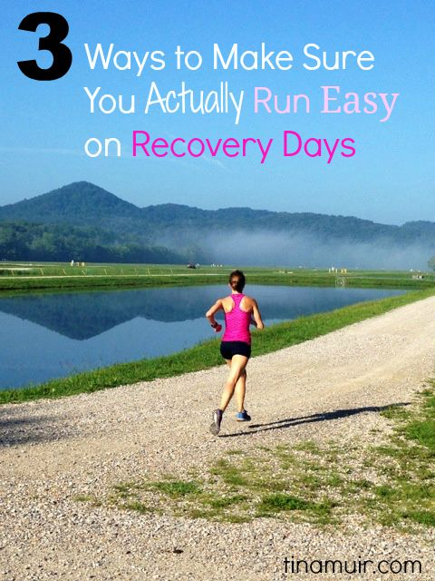 "We hear that we need to ""listen to our body"" on runs, but what does that mean? Elite runner Tina Muir shares 3 ways to know if you actually ran easy enough on your recovery runs."