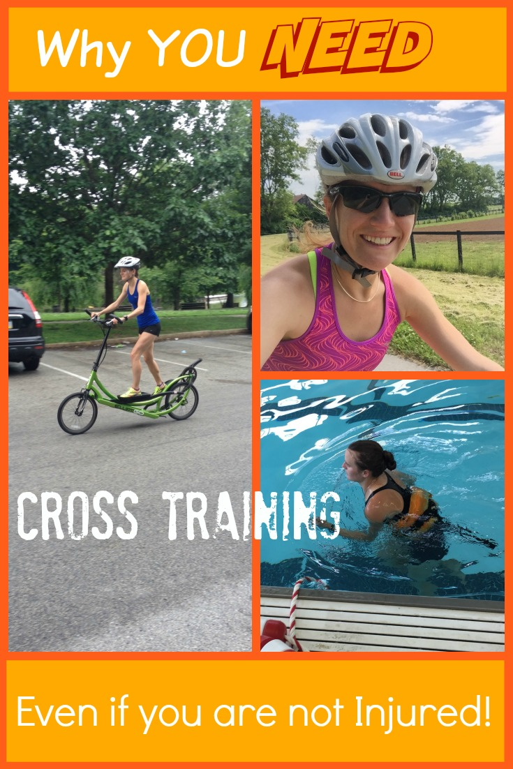 Most runners are scared of cross training, or associate it with injury like elite runner Tina Muir did, but this explains why you should try it. Not only will you improve your running, but you may find you actually look forward to it!