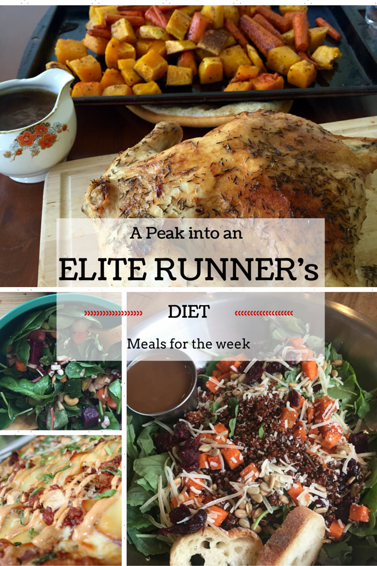 Ever wondered what elite runners have for dinner? Tina Muir shares a weeks worth of meals. They really are not that different to everyone else!