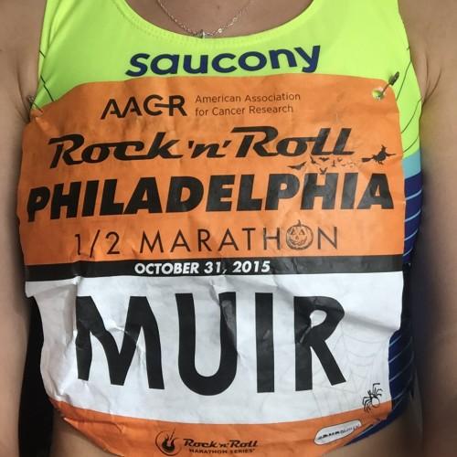Rock 'n' Roll Philadelphia Half Marathon- 1:13:21(1:08 minute PR!)