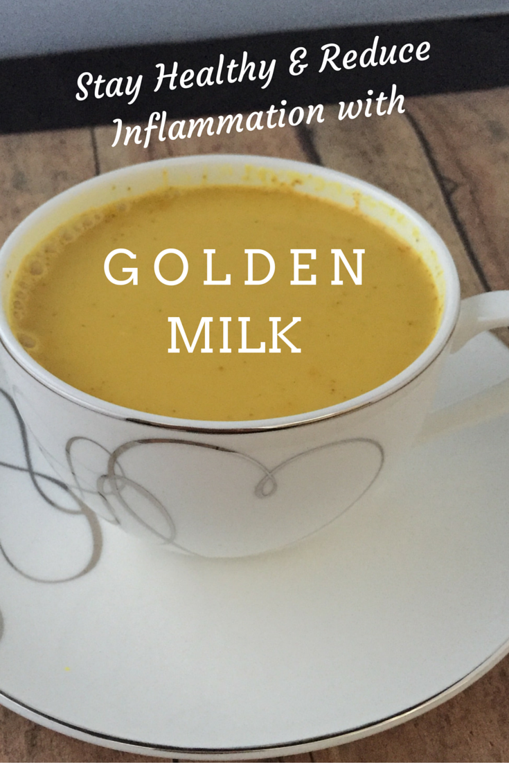 Feeling sick? Or fatigued from training? Stay Healthy & Reduce Inflammation with golden milk once a day. Elite runner Tina Muir drinks it, and you should too.