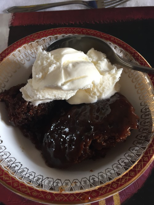 Tina Muir dessert