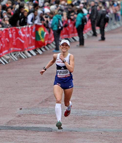 Tina Muir Finish World Half