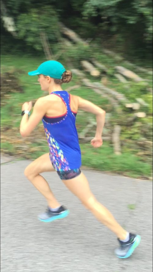 tina downhill strides