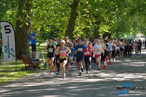 Tina run through 5k