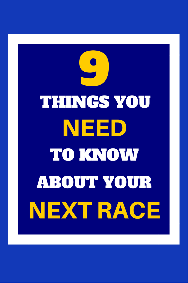 Preparing for a big race? If you are not looking at these things on your race website, you are putting all your hard training at risk by not being prepared. Elite runner Tina Muir shares her tips
