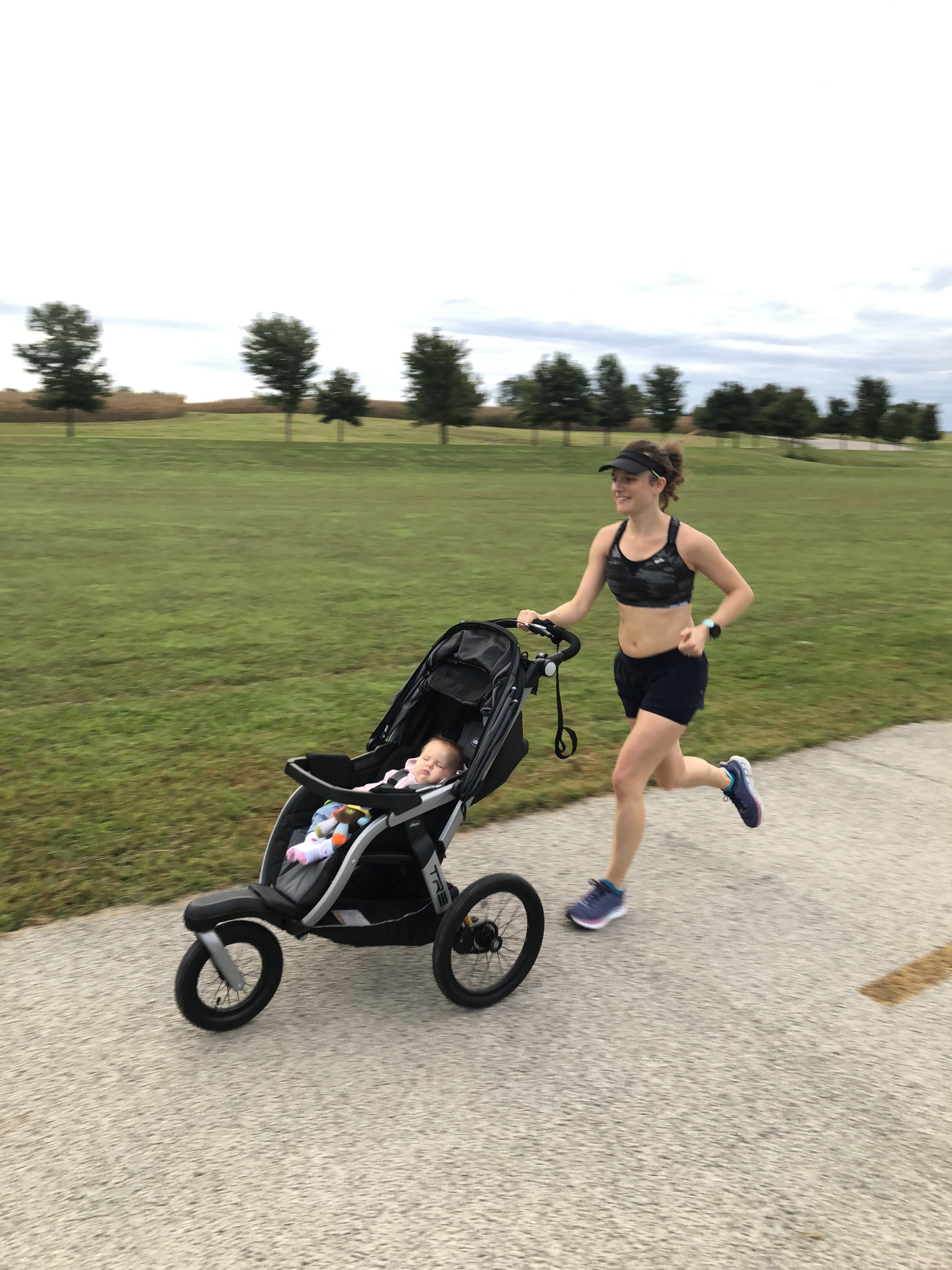 How to Run With a Running Stroller Effectively