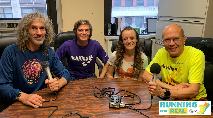 Beyond Running: Running with Disabilities with Michael Anderson, Alan Kaufman and Mauricio Blandino- R4R 145